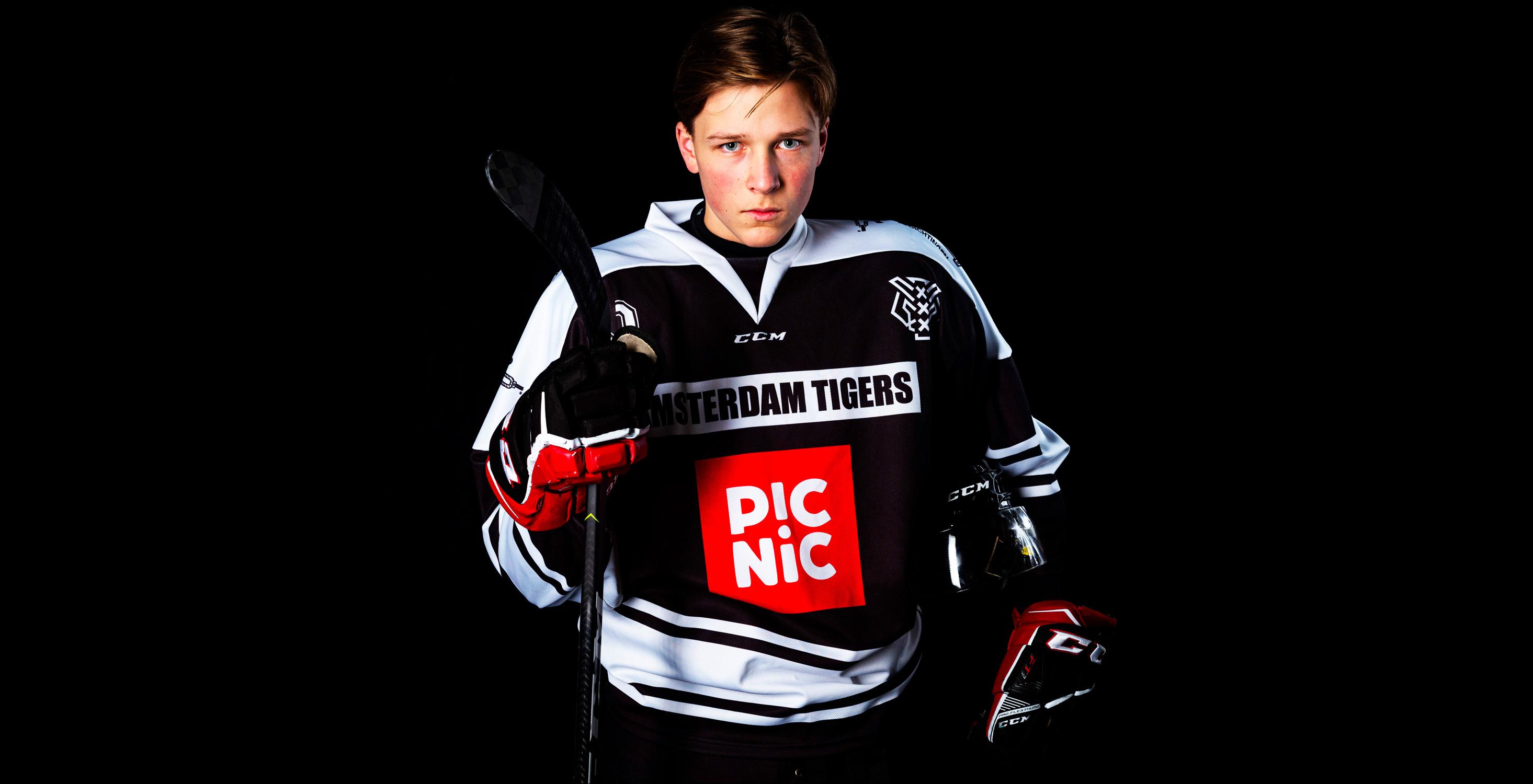 Jongste speler Tigers: 'Sport is mijn toekomst'